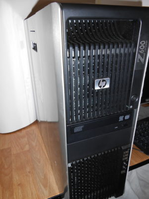 Hp Z600 Workstation Intel Xeon Quad Core E5620 2,4GHz 16GB RAM, NVIDIA NVS 295 scheda video,